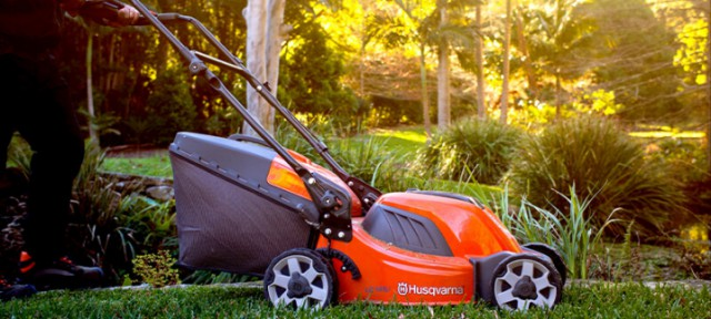 Garden Battery Power With Husqvarna